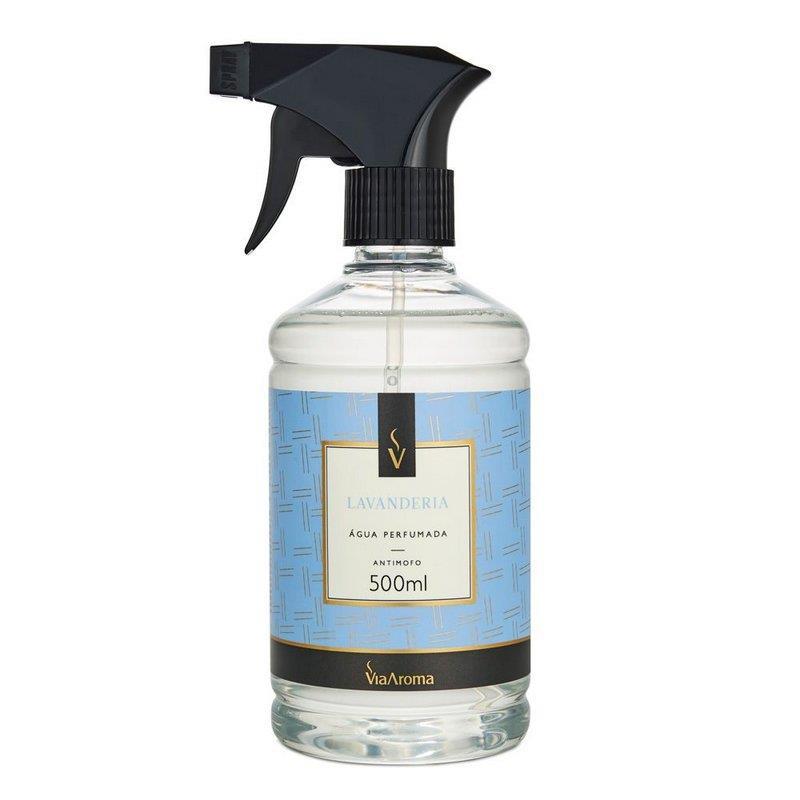 Água Perfumada para Tecidos Lavanderia - 500ml