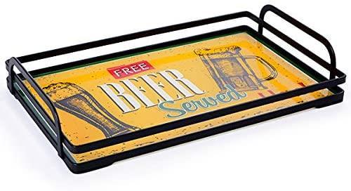 Bandeja de Ferro Free Beer