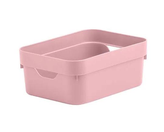 Caixa Organizadora Cube Mini Rosa Quartz