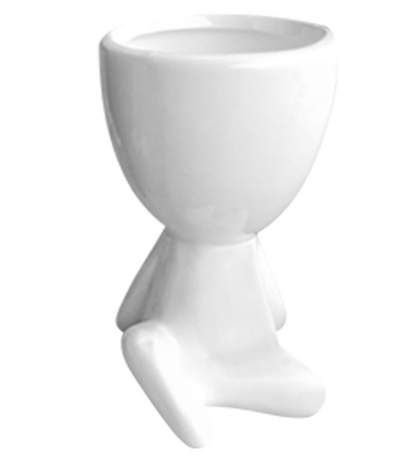 Enfeite Decorativo de Vaso em Cerâmica Bob