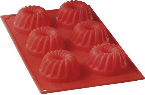 Forma de Silicone para Cupcake/Pudim