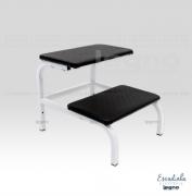 Escada auxiliar aço carbono - 02 degraus - Legno