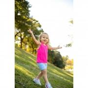 Regata Infantil Dry Fit Rosa