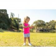 Short Suplex Infantil - Estampa Flamingo