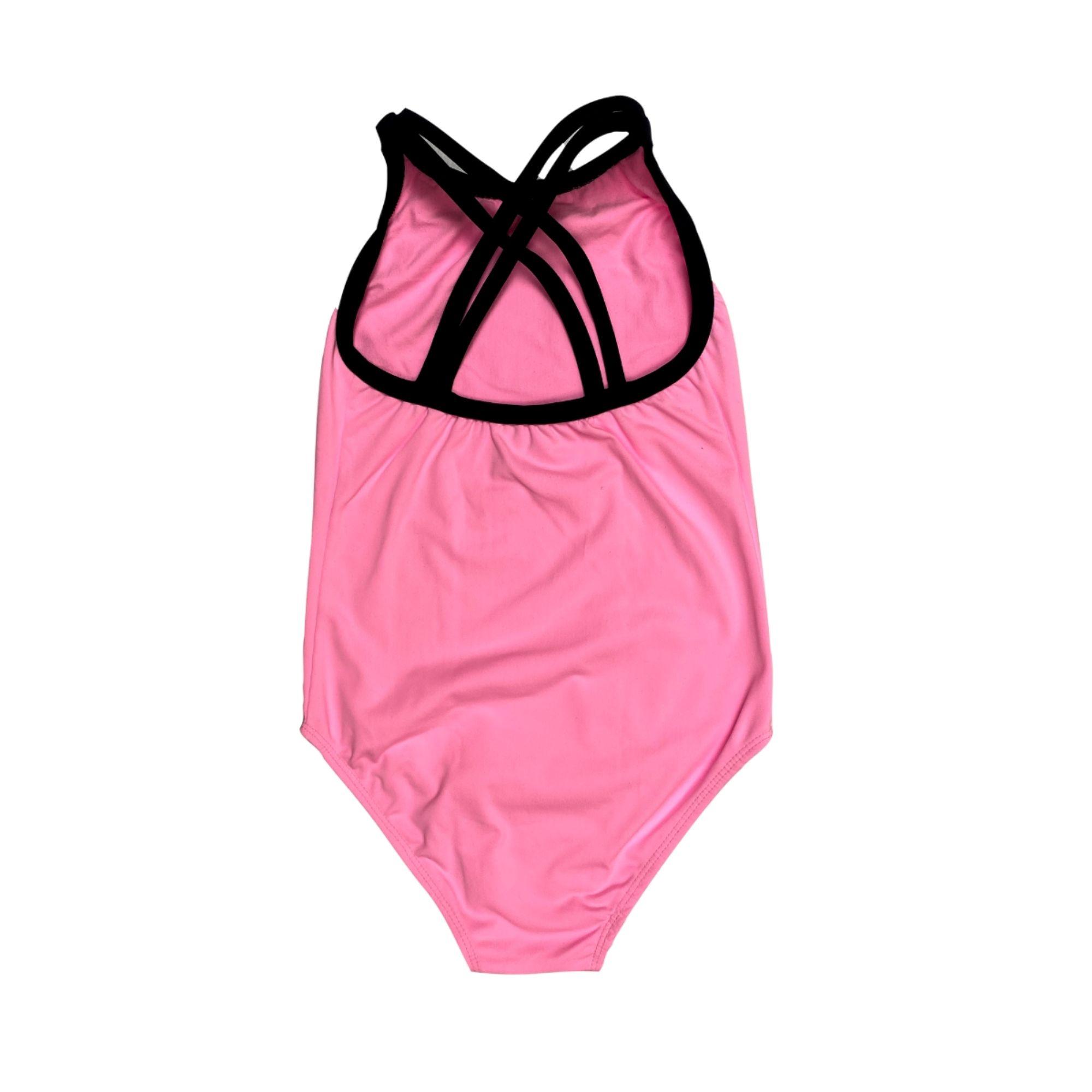 Body rosa duas tiras