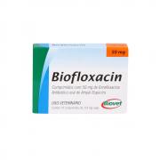 Biofloxacin 50mg 10 Comprimidos