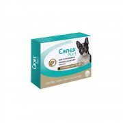 Canex Plus 3 - cães até 10Kg - 4 Comprimidos
