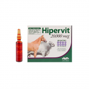 Hipervit 20.000 mcg - 5 ampolas
