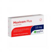 Maxicam Plus 2,0mg - 8 Comprimidos