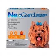 Nexgard 2 a 4Kg - 1 Tablete