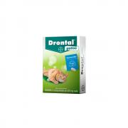 Vermífugo Drontal Gatos 339mg - 4 Comprimidos