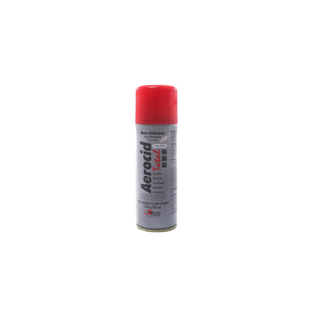 Aerocid Total Spray Prata 200mL