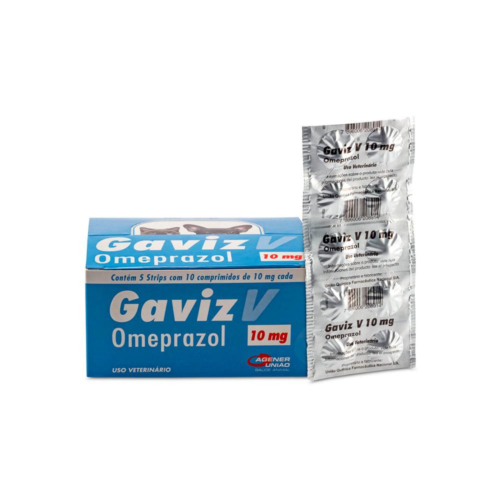 Gaviz V 10mg - 10 Comprimidos