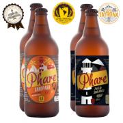 Cervejas Australian Pale Ale 2 Unidades 600ml e 2 und Blond Ale 600ml