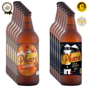Cervejas Premiadas - 6 unidades Bond Ale 600ml  +  6 unidades Australian Pale Ale 600ml