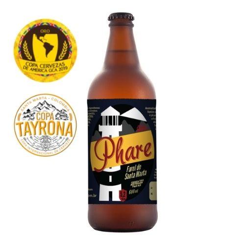 Cerveja Australian Pale 600ml   Farol de Santa Marta  