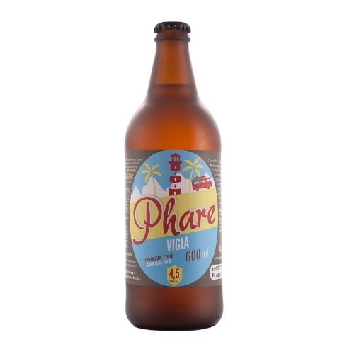 Cerveja Cream Ale 600ml - Praia da Vigia
