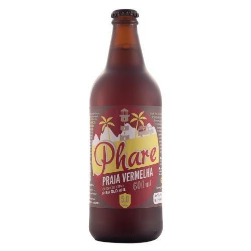 Cerveja Irish red Ale 600ml   Praia Vermelha  