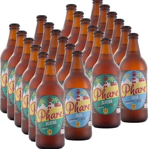 Cervejas do mês  - 12 unidades Cream Ale 600ml + 12 unidades Pale Pale Ale 600ml