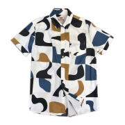Camisa Manga Curta Azulejo