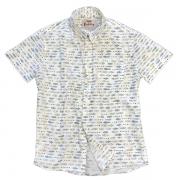 Camisa Manga Curta Foguete