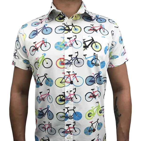 Camisa Manga Curta Bike  - Toolstoy
