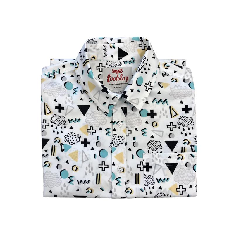 Camisa Manga Curta Rain  - Toolstoy
