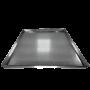 ASSADEIRA PLANA PERFURADA 58X70 CM (ALUMINIO 0,7 MM)