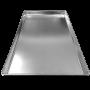 ASSADEIRA PLANA LISA 62X36 CM (ALUMINIO 0,7 MM) COMUM