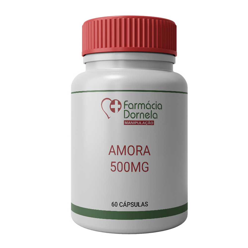 AMORA 500MG COM 60 CÁPSULAS
