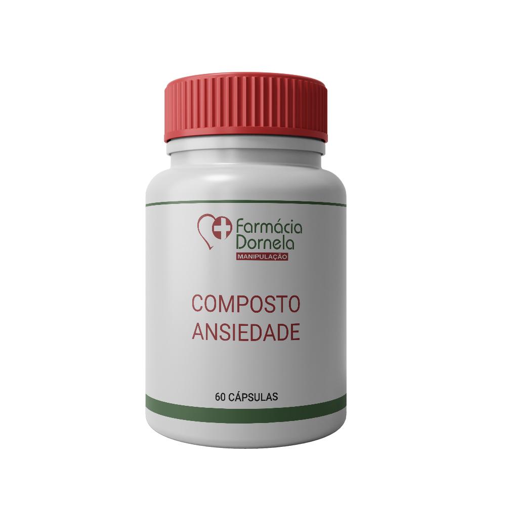 COMPOSTO ANSIEDADE 60CAPS