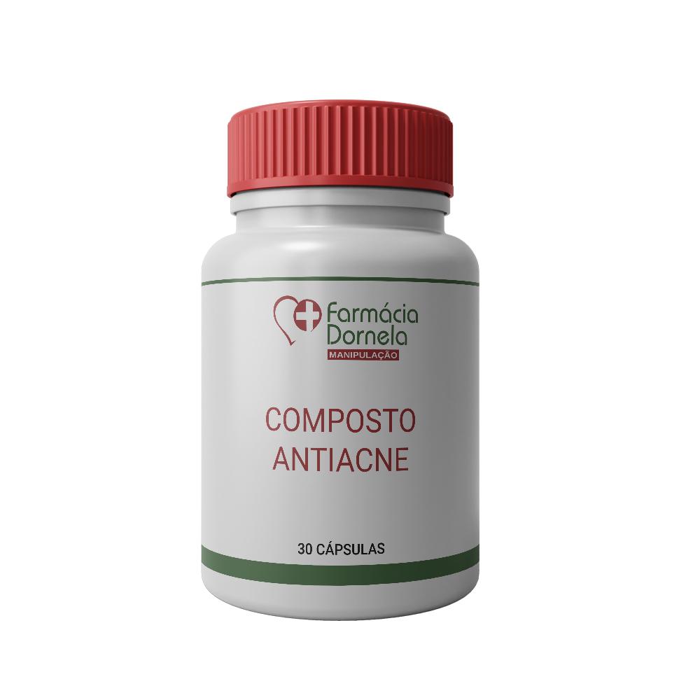 COMPOSTO ANTIACNE 30CAPS