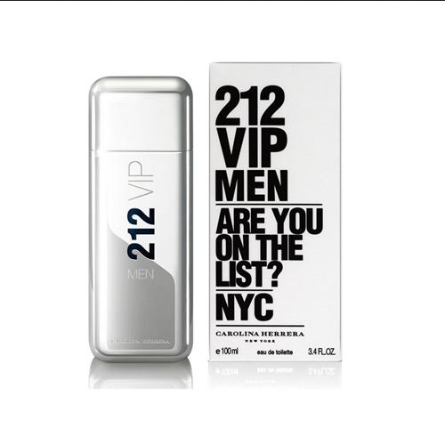 212 VIP MEN EAU DE TOILETTE CAROLINA HERRERA