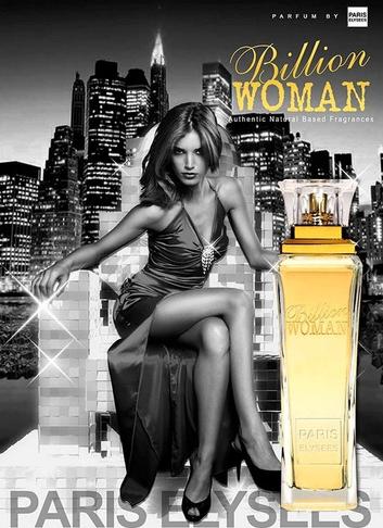 BILLION WOMAN PARIS ELYSEES 100 ml