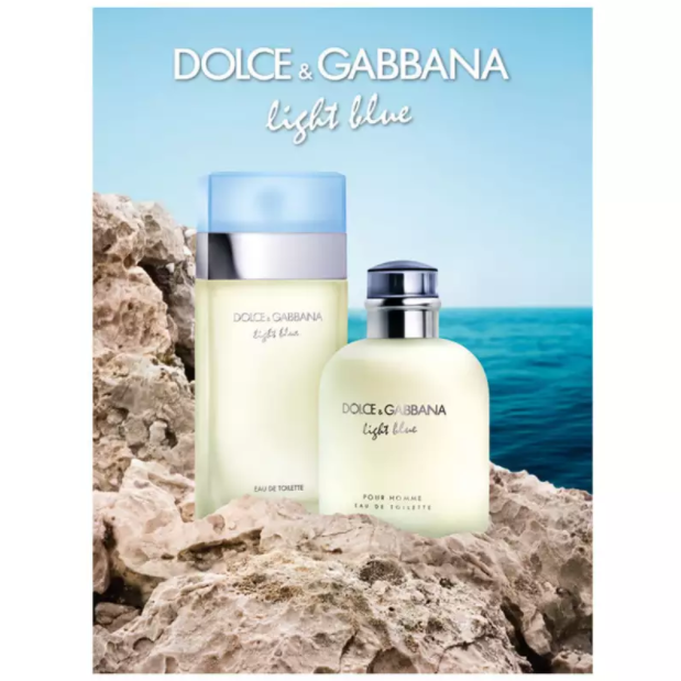 LIGHT BLUE DOLCE & GABBANA - OUTLET