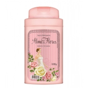 Talco Perfumado Alma de Flores Jasmim 100g Menphis