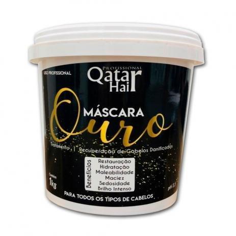 Máscara Ouro 1Kg - Qatar Hair