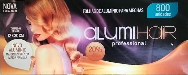 Papel Alumínio para mecha 800