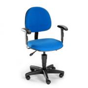 Cadeira Executiva com Braço Azul