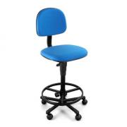 Cadeira Executiva Giratória  sem Braço Azul
