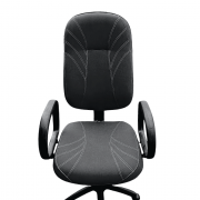 Cadeira Presidente Gomos T453 Preto