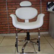 Poltrona Cadeira Smart ALkQ 3545 Branca