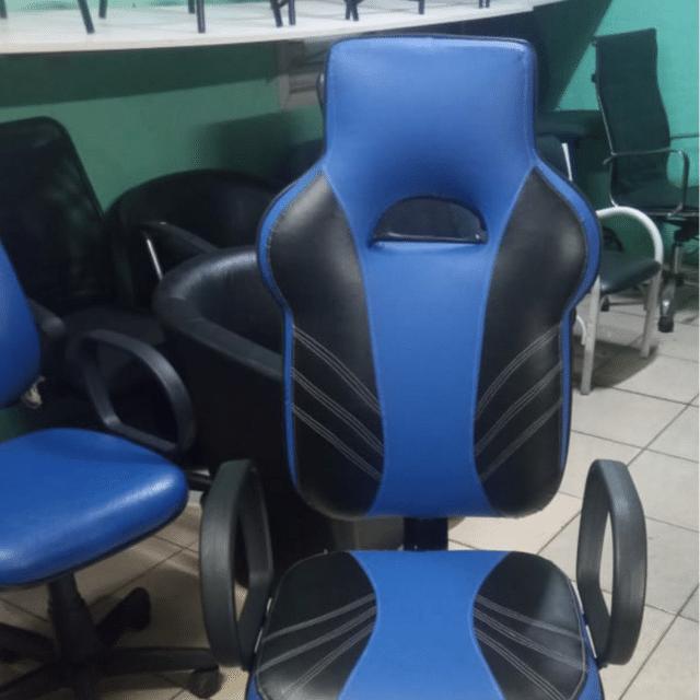 Cadeira Gamer Word Premium AlG-4578  Azul