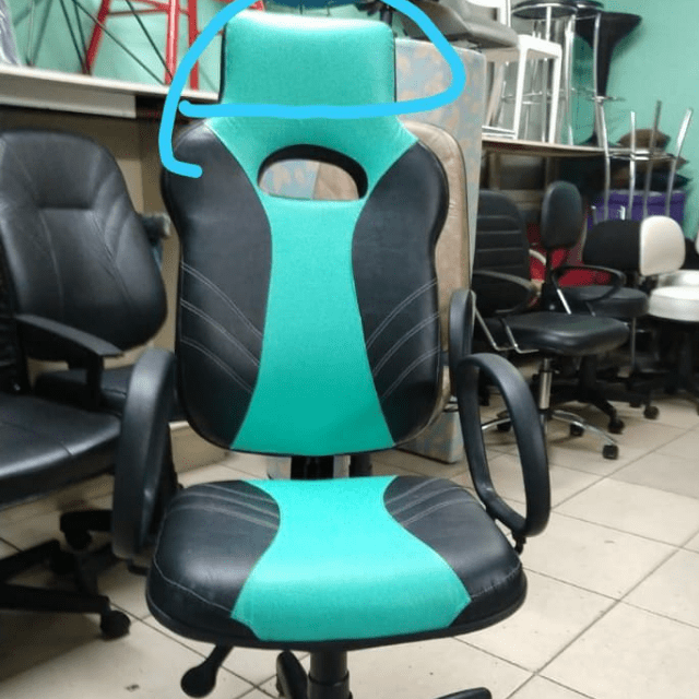 Cadeira Gamer Word Premium AlG-6578  Verde água