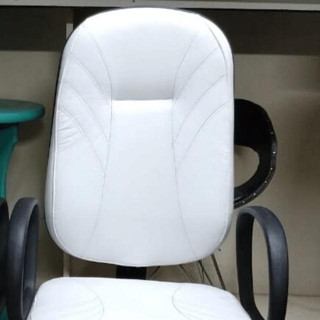 Cadeira Presidente Gomos T451-Branca