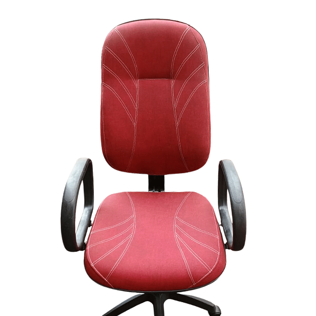 Cadeira Presidente Gomos T454 Vermelho