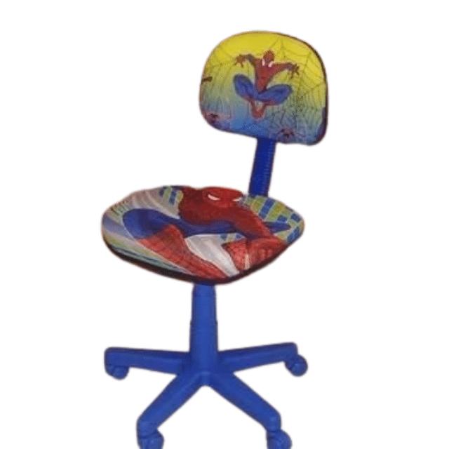 Cadeira Secretária Giratóira Com Personagens Infantis