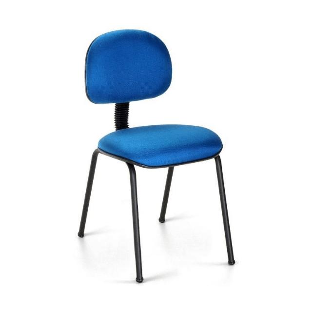 Cadeira Secretária Pé PalitoAzul