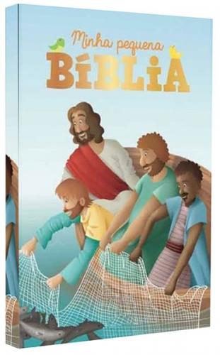 Bíblia Infantil Ilustrada - Minha Pequena Bíblia - Com Ilustrações e Ideal para os pequenos aprenderem mais da Palavra de Deus