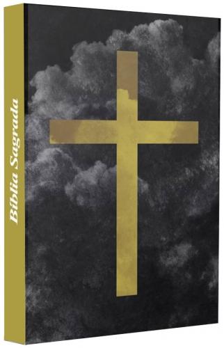 Bíblia Sagrada - Capa Personalizada Cruz - Possui Tamanho Grande - Ultra fina Slim - Versão Almeida Fiel - Capa Dura - ACF